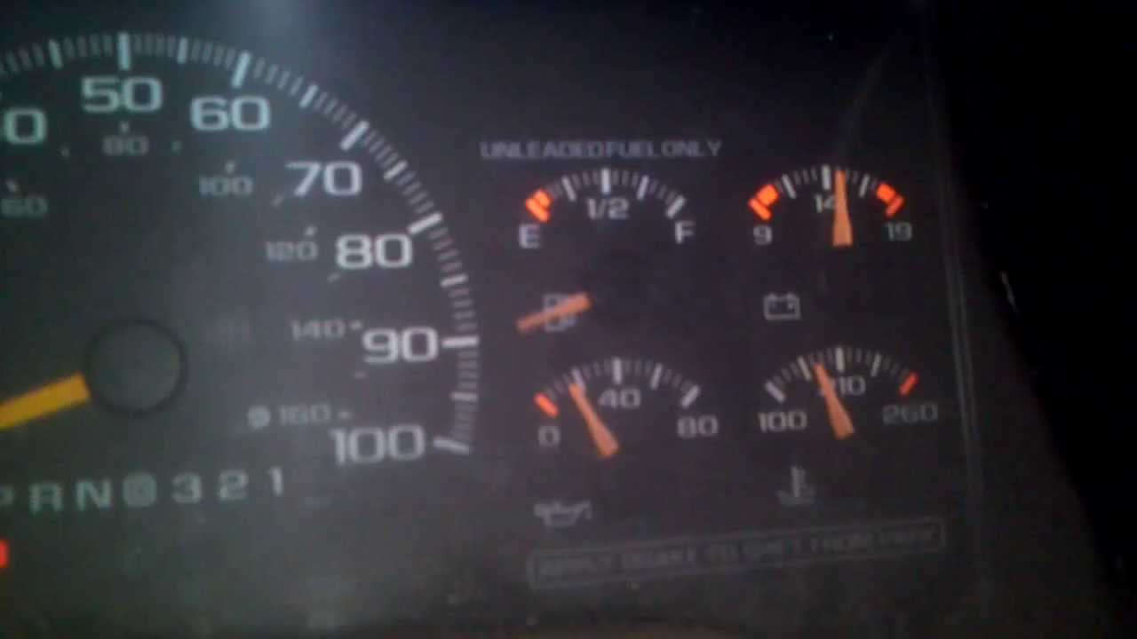 Fuel gauge problem 99 Chevy pickup (classic body style ...