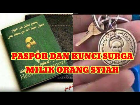 Stress Kuadrat...! Orang Syiah Punya Paspor dan Kunci Surga.....!