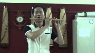 Lý đất giồng - Cuốn 1 giáo trình sáo trúc trung cấp 6 năm - Văn Nam_12-2014