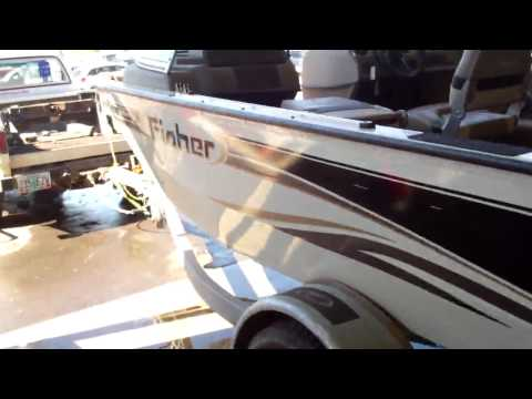 2003 Boat FISHER, 165 PRO AVENGER, 16' 2003, MERCURY, 60ELPTEFI, OUTBOARD, 4 ST. (Run# N132)