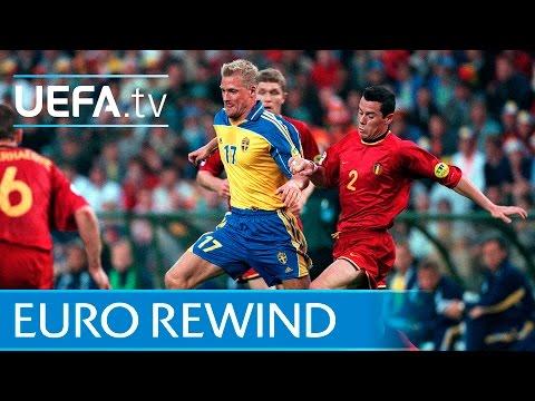 EURO 2000 highlights: Belgium 2-1 Sweden
