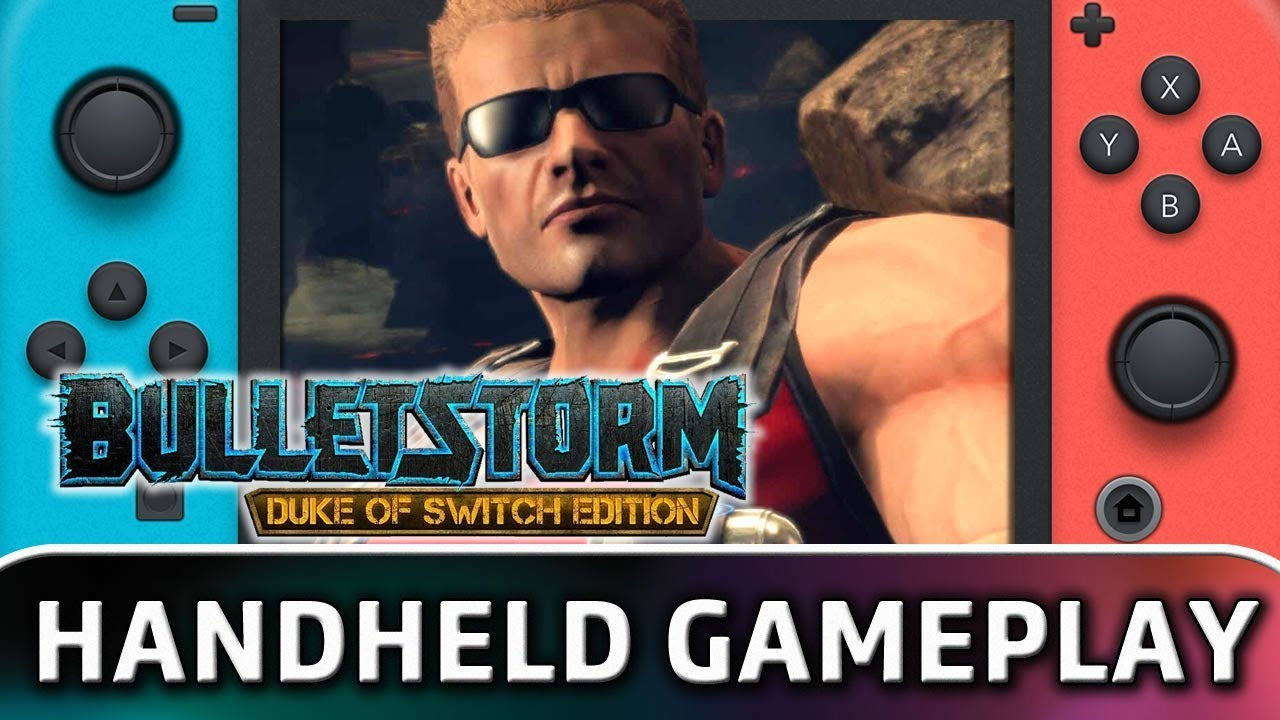 Bulletstorm: Duke of Switch Edition | Handheld Frame Rate & Gameplay on Nintendo Switch