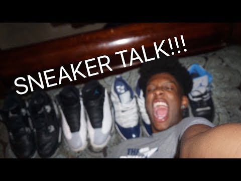 A SNEAKER TALK WITH DARRELL ( OCTOBER SHOE ROTATION)