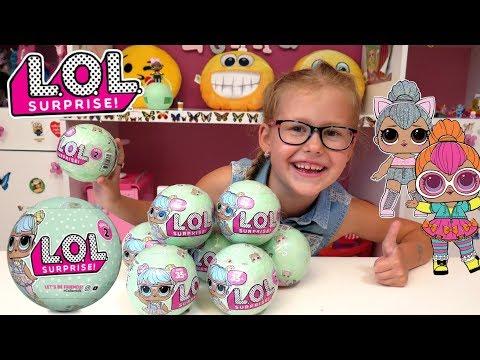 Laleczki L.O.L., LOL Surprise + Konkurs !!! Baw się ze mną z Lenką