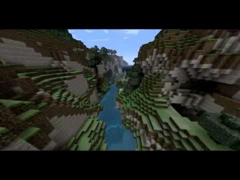 Timelapse Ravine - Minecraft