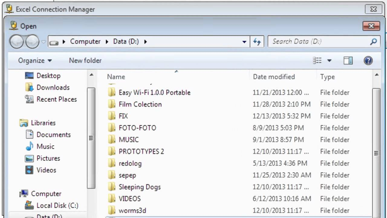 how to import excel data into SQL SERVER 2005 with SSIS (DTS)