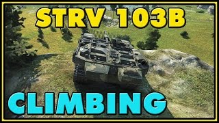 World of Tanks | Climbing - Strv 103B - 4 Kills - 10.7K Damage