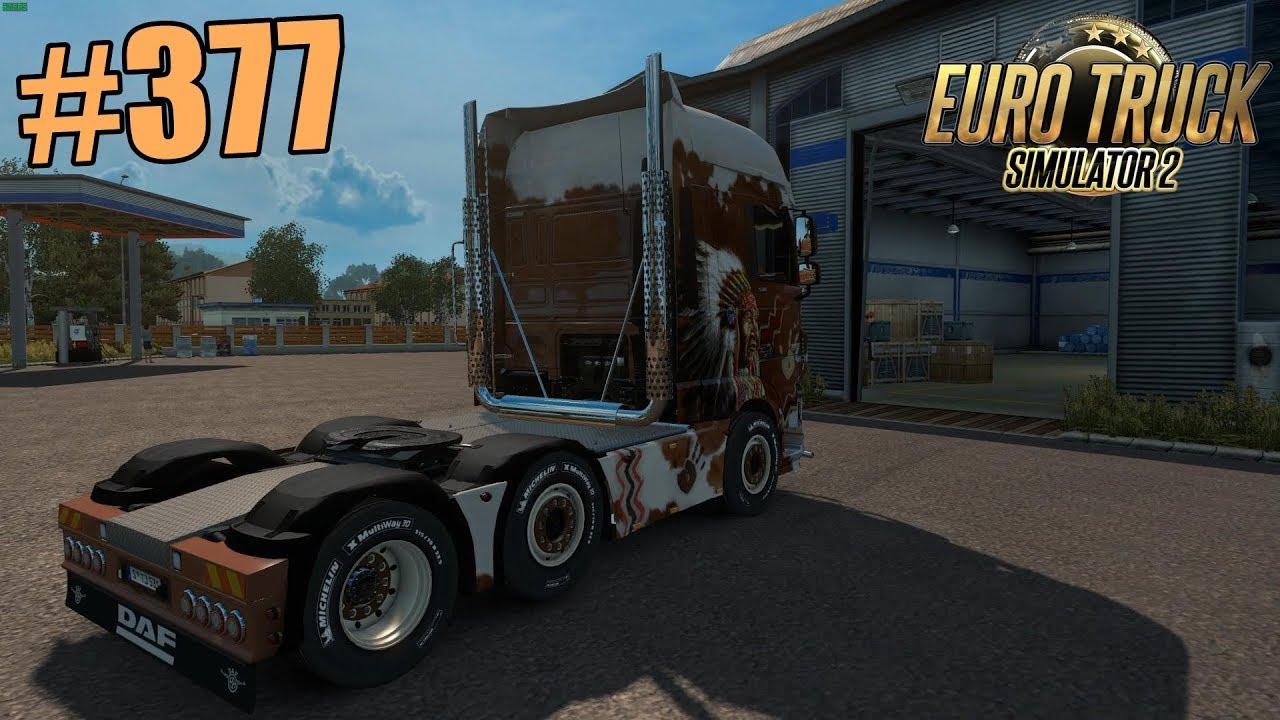 euro truck simulator 2 377 daf xf 530 euro6 6x2 4. Black Bedroom Furniture Sets. Home Design Ideas