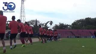 Official Training Tim AremaFC Di Stadion H. Agus Salim Padang