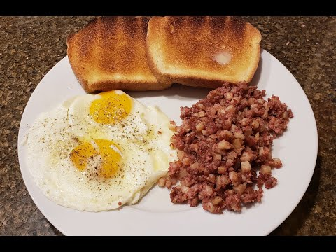 Cast Iron Corned Beef Hash And Eggs