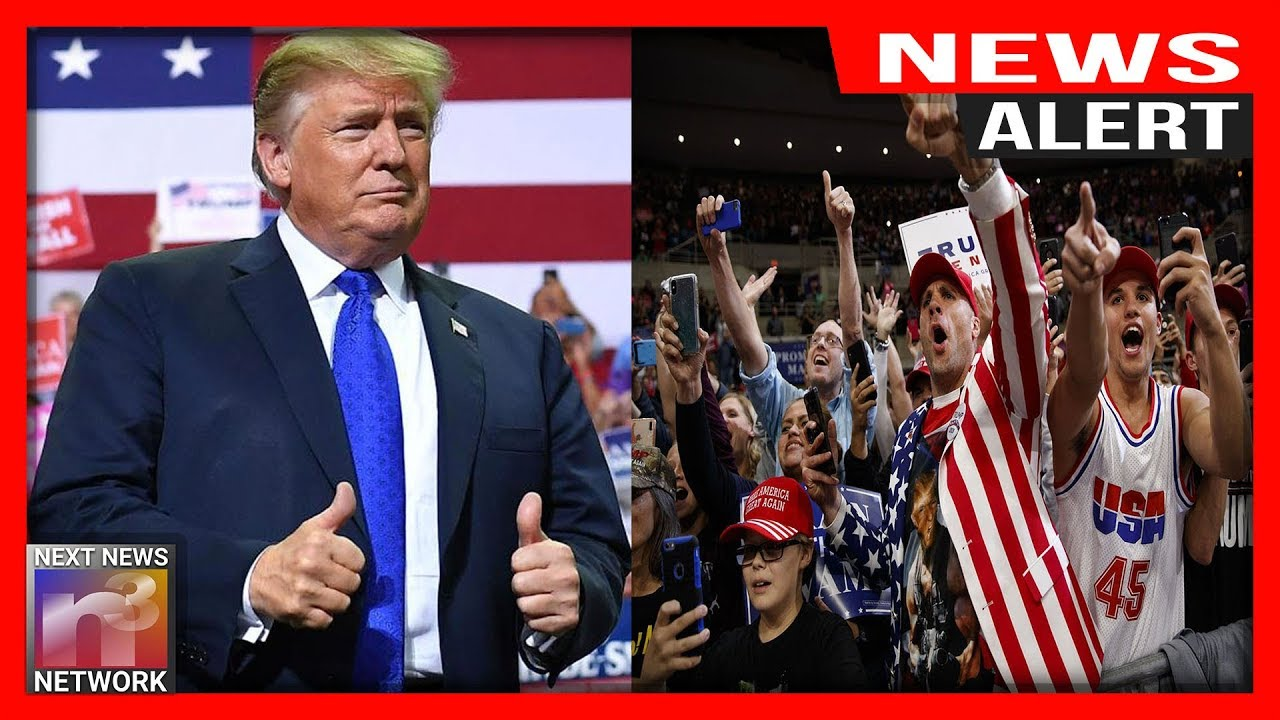 Alert  Massive Trump Rally Crowd Explodes In Chants That