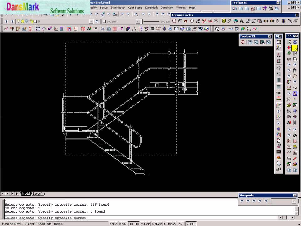 Concrete Stair Design Software