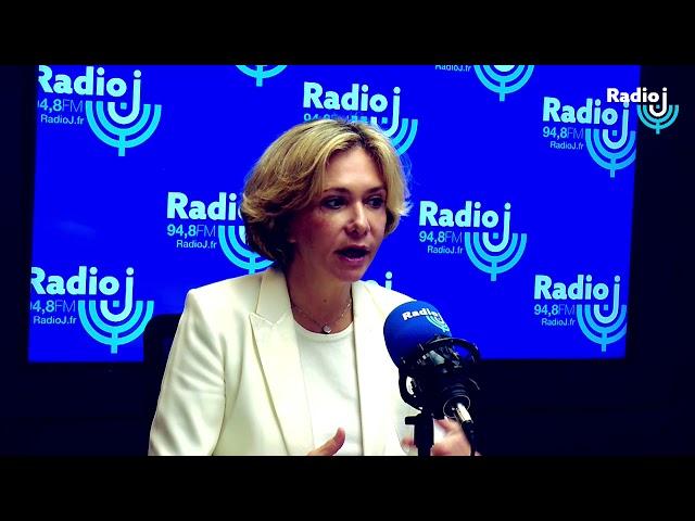 Invitée du Forum Radio J : Valérie Pécresse