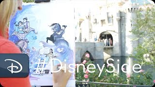 Mary Doodles Draws Her Disney Side | Sleeping Beauty Castle