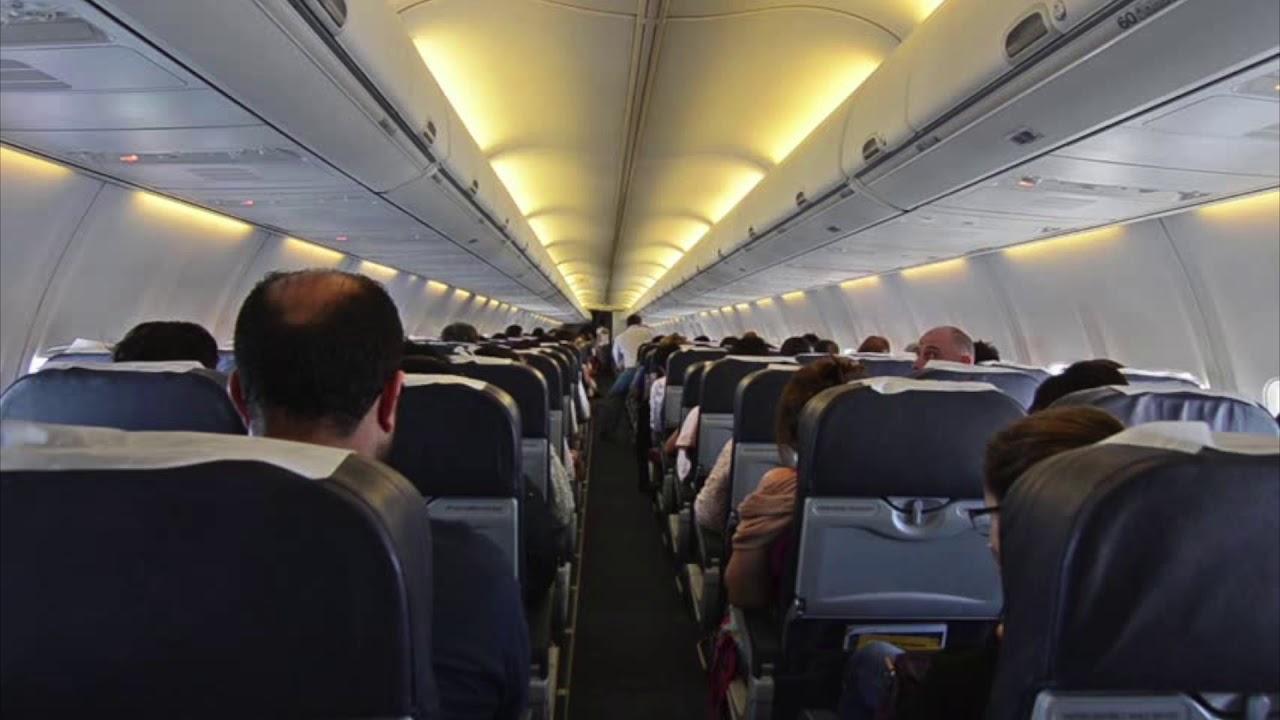 airplane interior sound fx youtube