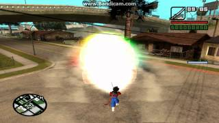 Gta San Andreas Dragon Ball Z Kai Mod + download link