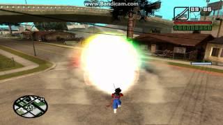 Gta San Andreas Dragon Ball Z Kai Mod + download link