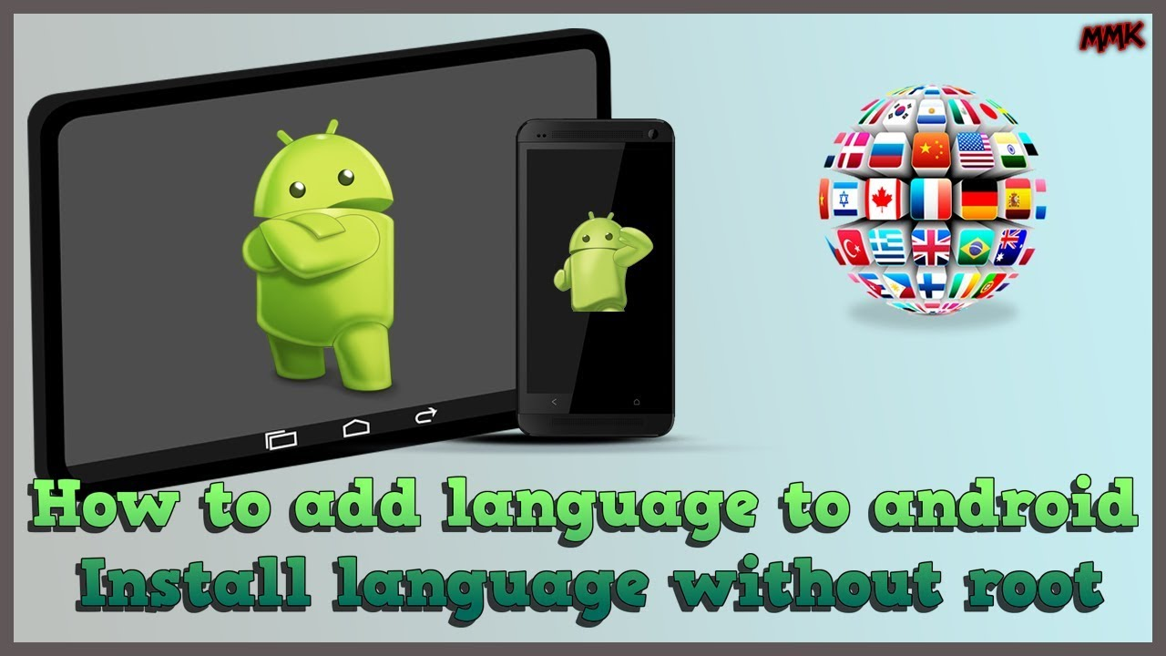 How to add language to android – install language without root