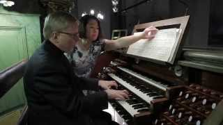 Ralph Gustafsson plays Sonata in g minor by Oskar Lindberg at the r...