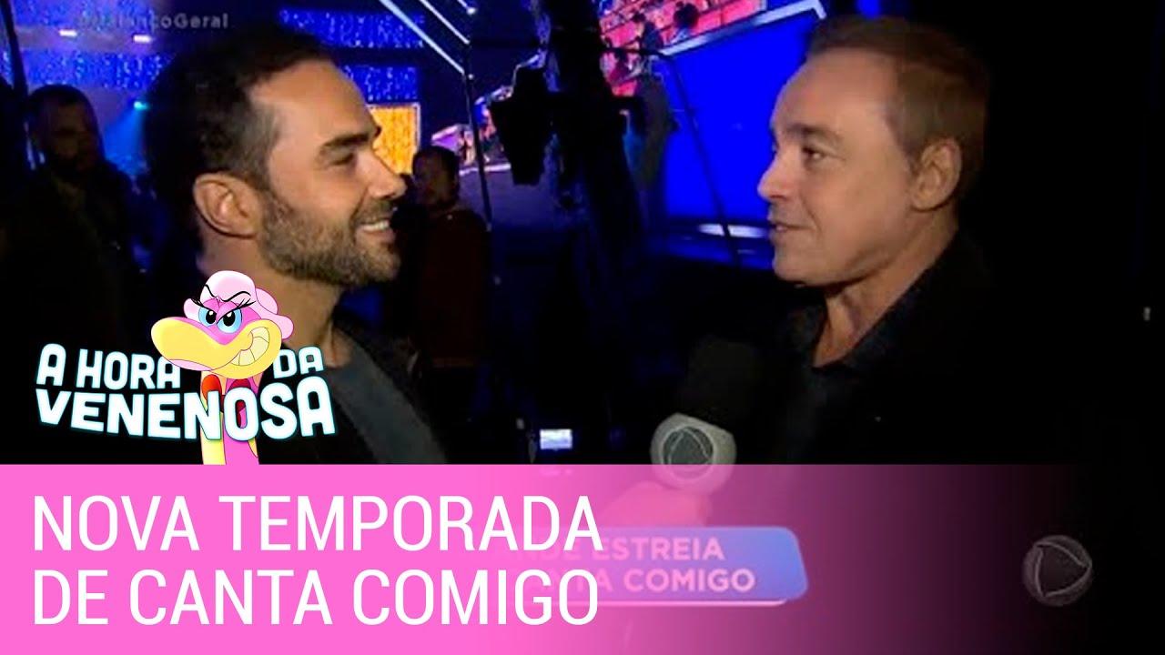 Gugu Liberato fala sobre nova temporada de Canta Comigo