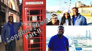 LONDON TRAVEL VLOG PART II: Big Ben, London Eye, St. Paul Cathedral | Vlog 16