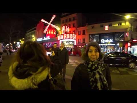 Walk Around Paris Part 2 of 3 — Eiffel Tower at Night [Binaural ASMR]