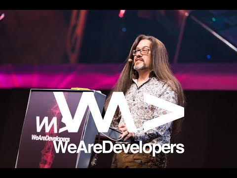 The Early Days of Id Software - John Romero @ WeAreDevelopers Conference 2017