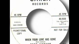Deon Jackson - When Your Love Has Gone.wmv