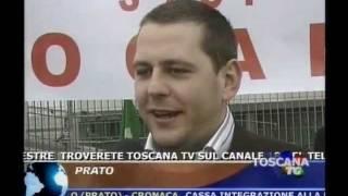 il rottamatore pratese Gianluca Banchelli