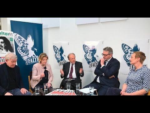 » Falter-Diskussion von Meinl-Reisinger und Hacker: 100 Jahre rotes Wien