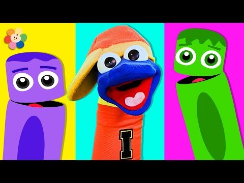 Learn Colors With Color Sock Puppets & More | Learn Colors with Color Crew | BabyFirst