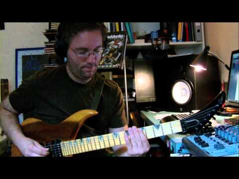 LACOURT Fabrice -Ernie Ball Music Man Dreamscape Challenge- .wmv
