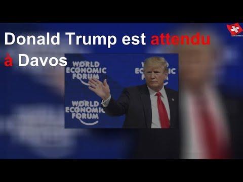 Donald Trump est attendu à Davos