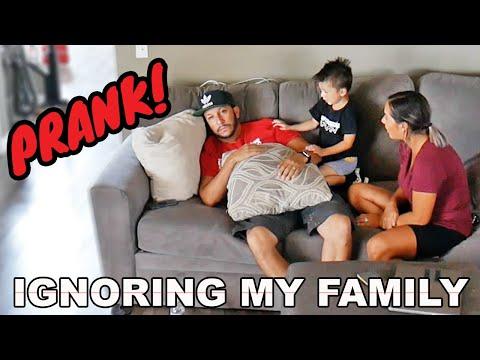 ODM - Ignoring My Family PRANK!