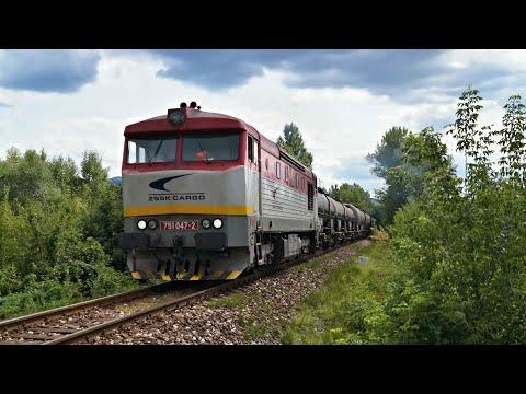 Vlaky Slovensko - Bardotka ZSSKC 751.047 na Mn 88731