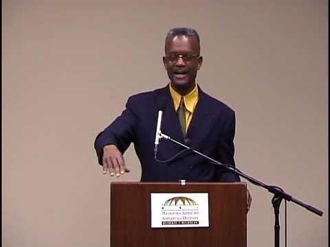 Nana Tony Martin lecture on Nana Marcus Garvey