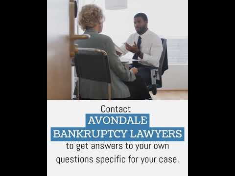 Avondale Bankruptcy Lawyer