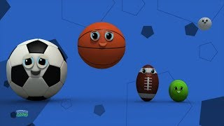Sports Ball Finger Family | Nursery Rhymes | Baby Songs For Children