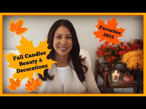 Fall Candles, Beauty & Home Decor