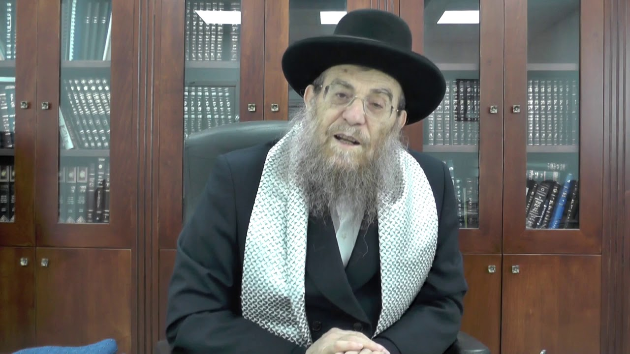 """הגאון הגדול הרב יצחק ברדא שליט""""א - פרשת בא"""