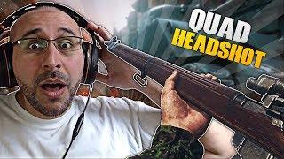 QUAD HEADSHOT + Série Nucléaire Sniper - Clips & Fails #2 - Call of Duty: WW2