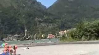 Op de camping in Porlezza