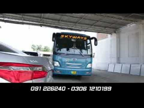 Skyways bus service (Minhas Coach)