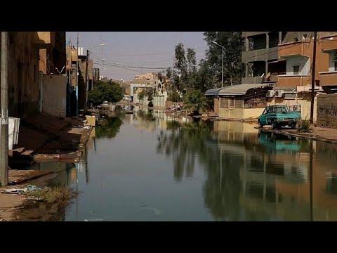 شاهد: مياه الصرف الصحي تغرق مدينة سبها في ليبيا  - نشر قبل 4 دقيقة