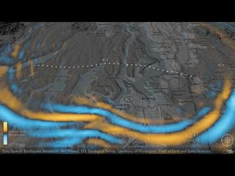 Tacoma Washington Earthquake Fault Event