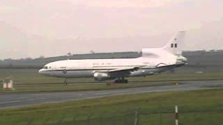 Lockheed L 1011 Tristar Royal Air Force Glasgow, Scotland   Prestwick PIK   EGPK ID7705