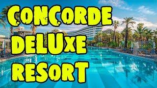 Concorde De Luxe Resort 5 Турция Анталия Обзор отеля