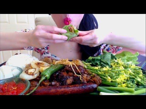 ASMR EATING SOUNDS KOREAN BBQ | BULGOGI CHICKEN | NO TALKING