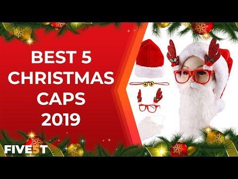 Best 5 christmas caps 2018