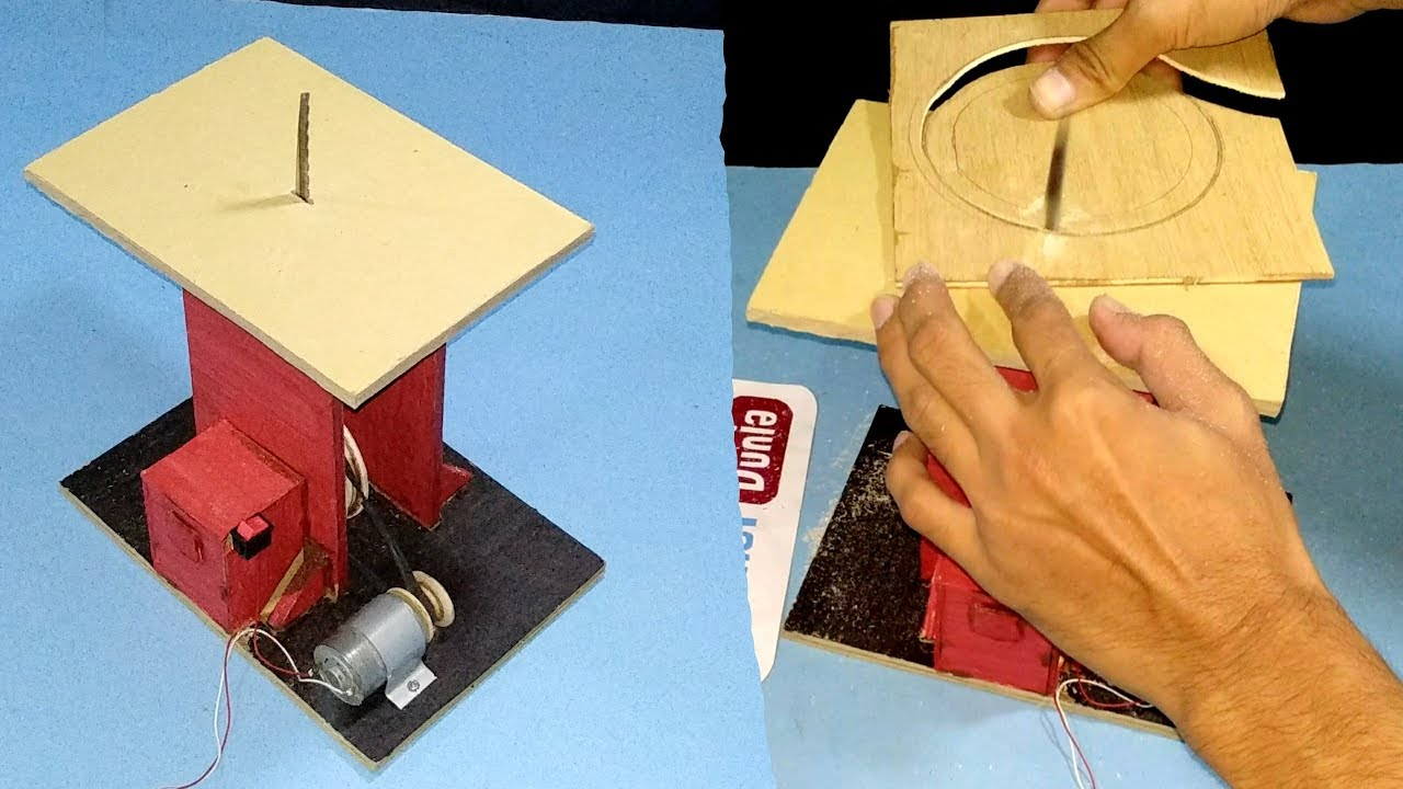 Cara Membuat Mesin Gergaji Untuk Triplek. - YouTube